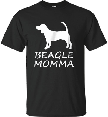 Beagle Momma Cute Dog Lover T-Shirt - Shirt