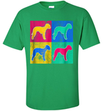 Bedlington Terrier Pop Art Cool Dog Artwork T-Shirt - Shirt