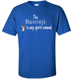 The Basenji Is My Spirit Animal T-Shirt - Shirt