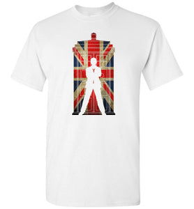 9th Doctor in Union jack
