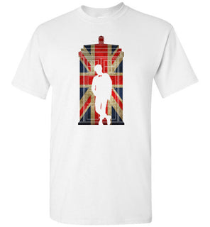 11th Doctor in Union jack