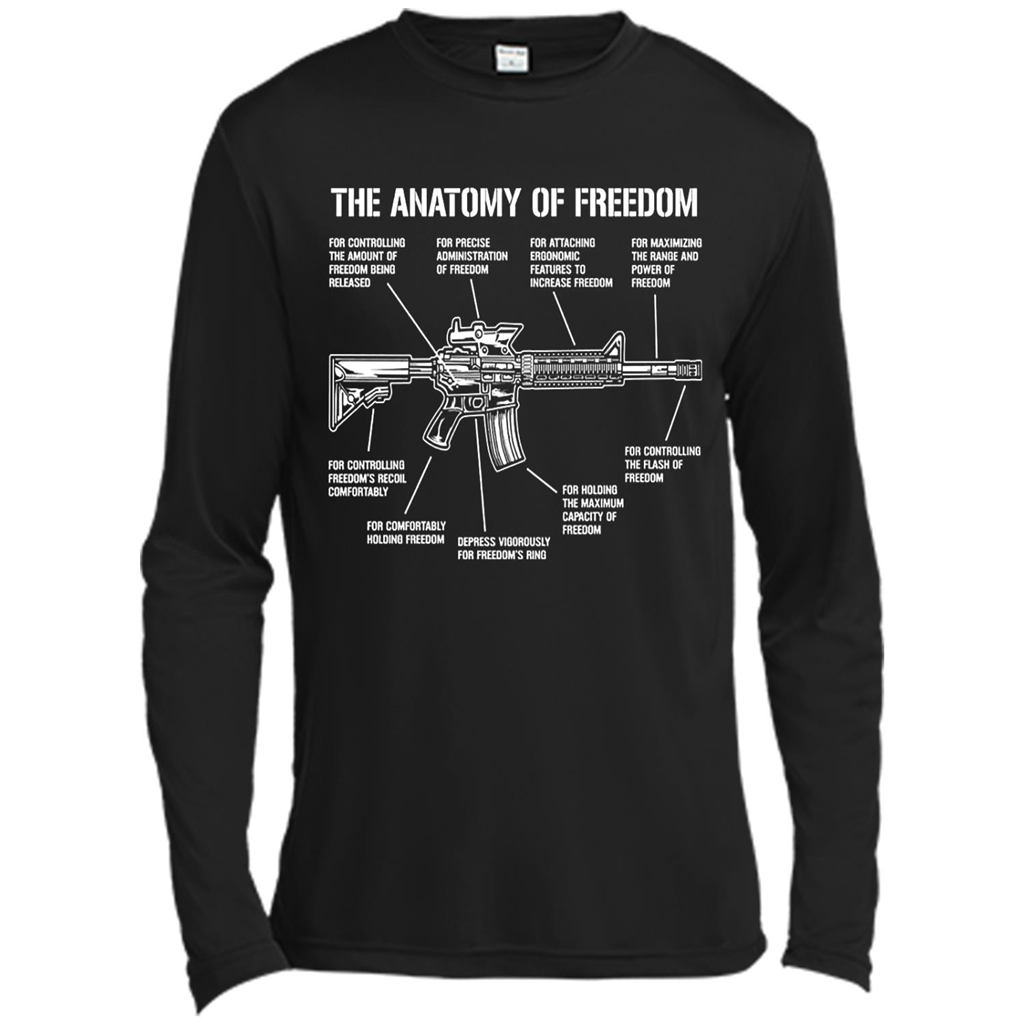 Assault Rifle AR15 AR 15 Gun Anatomy of Freedom – Funny Guns ...