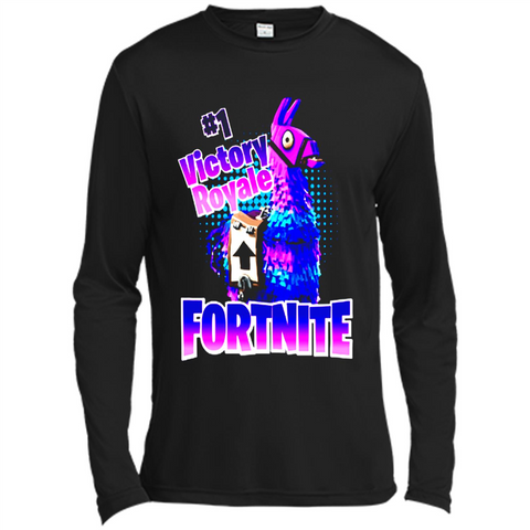 #1 Victory Royale Fortnite Shirt - Canvas Long Sleeve T-Shirt