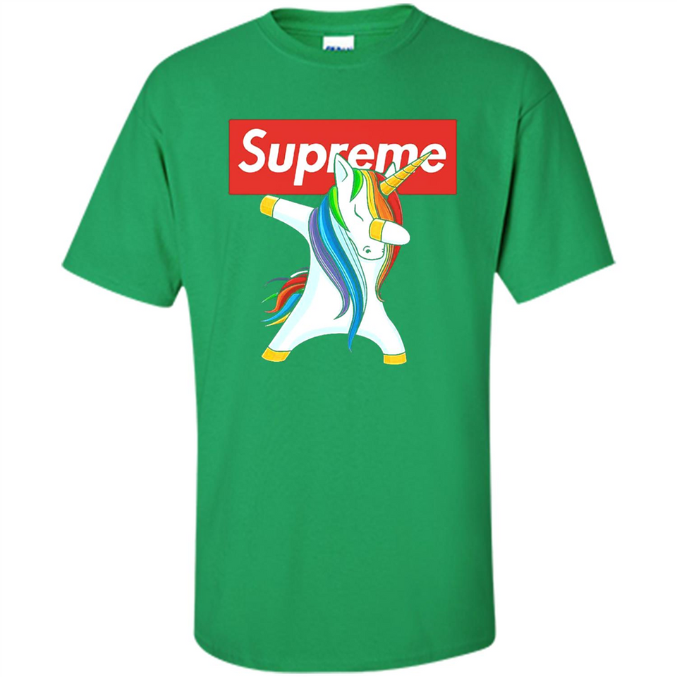 Best Supreme Unicorn Dabbing Shirt - T-Shirt