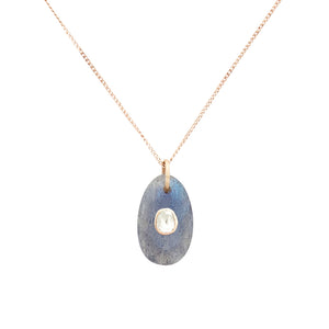 orso n°1 necklace labradorite