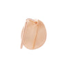 Small petal gold earring | 18K rose Gold | Single