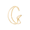 V Gold Hugger | 18K Yellow Gold | Single
