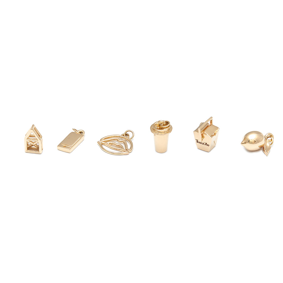 'Connected' by Elsa Fralon | 14K Yellow Gold