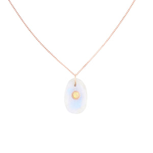 orso n°1 necklace moonstone