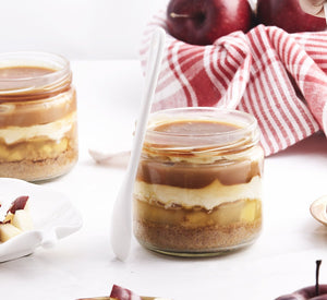 Apple Caramel Cheese Trifle [200ml jar]