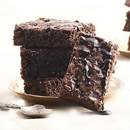 Gooey Chocolate Brownie-BAKEBURRY
