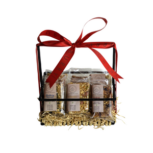 Natural Energy Bar Basket-Gift Basket-BAKEBURRY