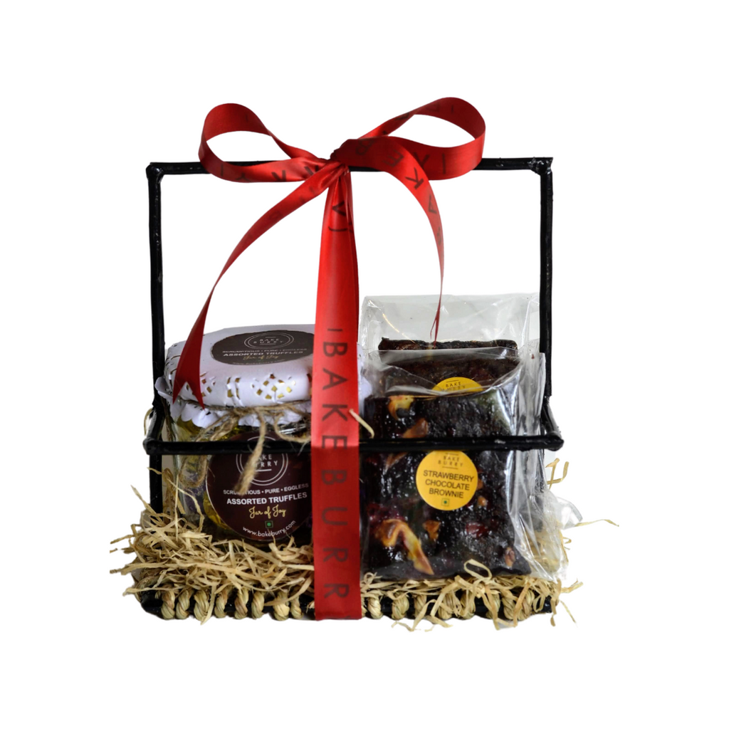 Cute Lil Basket-Gift Basket-BAKEBURRY