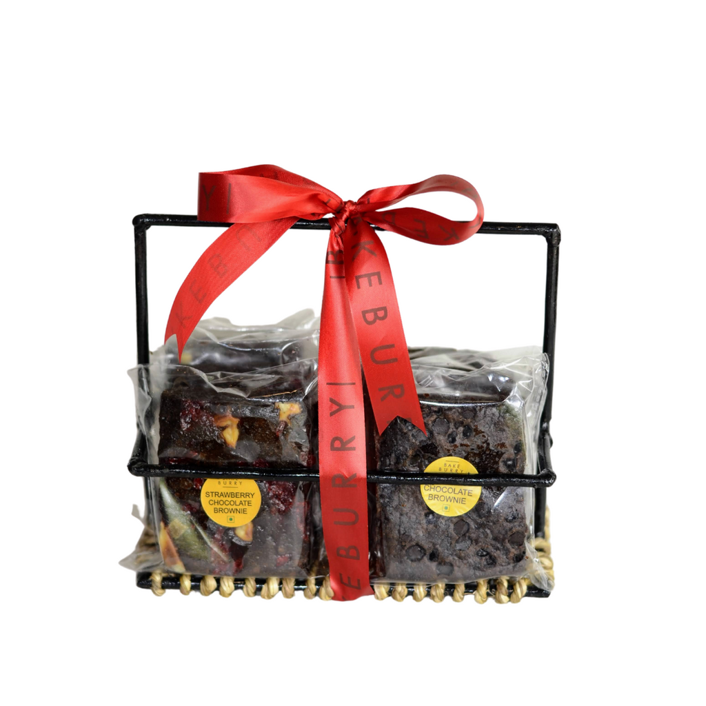 Brownie Basket-Gift Basket-BAKEBURRY