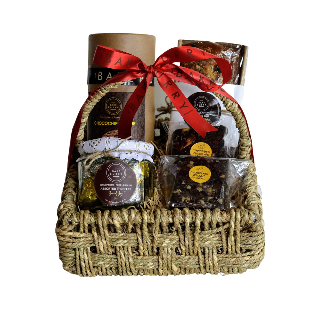Coffee Time Basket-Gift Basket-BAKEBURRY