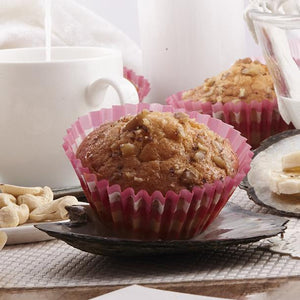 Orange Peel and Nuts Muffin