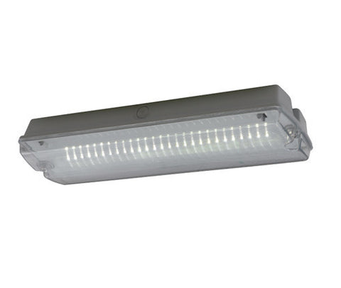 Guardian 3W LED Maintained IP65 Emergency Bulkhead & Legend Kit