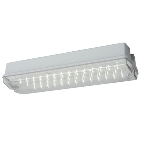 Centurion 7W IP65 LED Self-Test Emergency Bulkhead