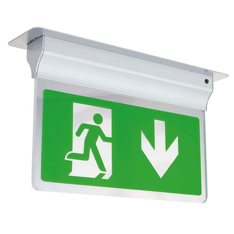 Eagle 3-In-1 LED Exit Sign 2.5W LED Silver