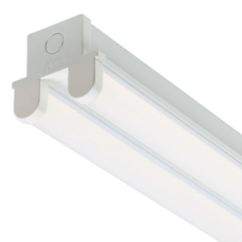60W 6ft Emergency Twin LED Batten