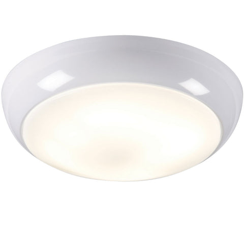28 Watt 2D IP44 Surface Luminaire - White Bezel, Opal Diffuser
