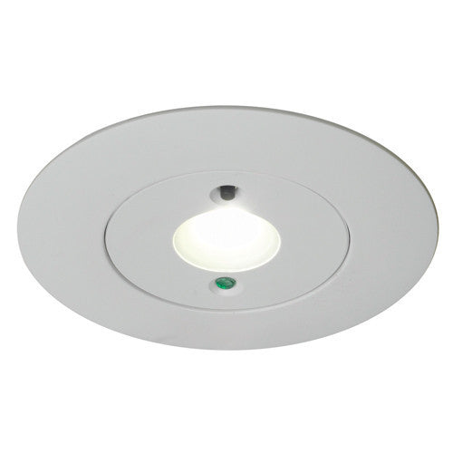 Merlin 5 Watt LED Self Test Recessed Emergency Downlight