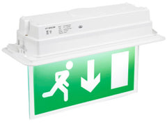 Fusion LED Recessed Exit Sign