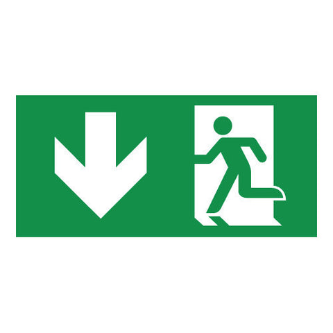 buy illuminated fire exit signs emergency fire exit sign tagged