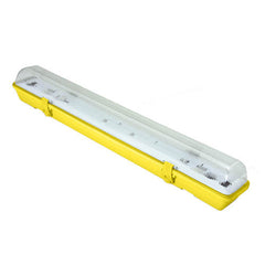 1 x 58W HF 110 Volt IP65 Non Corrosive Batten with Emergency Gear