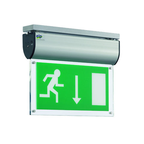 LED Aluminium Maintained Exit Sign