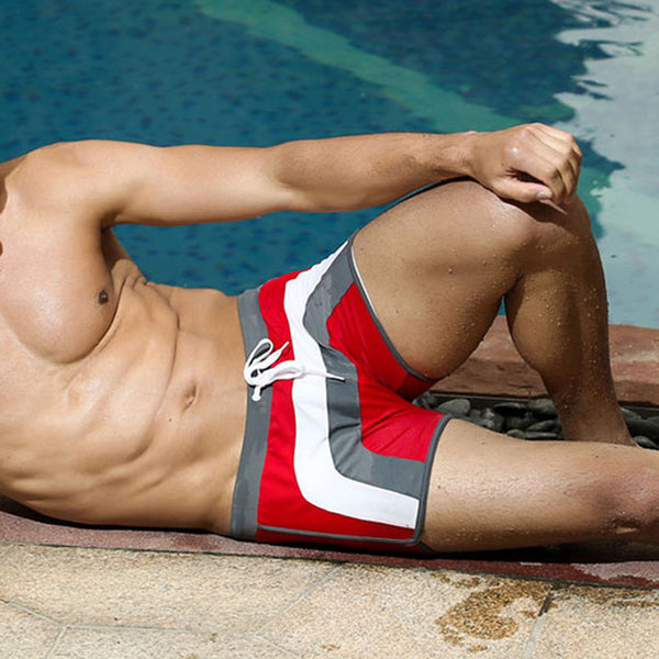 Breathable Swimming Trunks