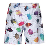 Beach Shorts 3D Bug Print