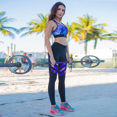 Printed Super Sexy Fitness Leggings