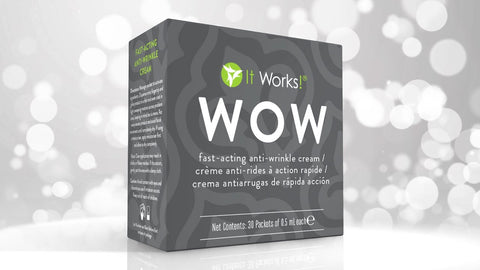WOW! Wipe Out Wrinkles Facial Pads (pack of 30)