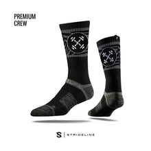 12th State Premium Strideline Crew Socks