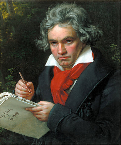 Famous deaf person Beethoven
