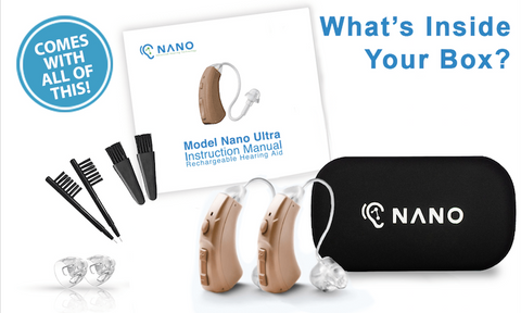 Nano Hearing Aids Collections