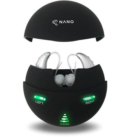 The new range of rechargeable Nano Digital Hearing Aids