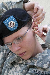 Veteran With Hearing Aids