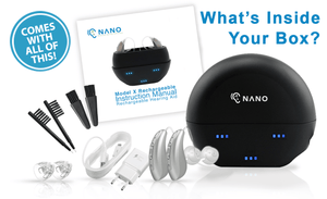 Copy of (Buy 1 Get 1 FREE PLUS FREE CASE Worth $195!) Buy 1 NEW Model Nano X2 Recharge Hearing Aid - Get the Second Ear FREE. Entire Pair for Only $697!