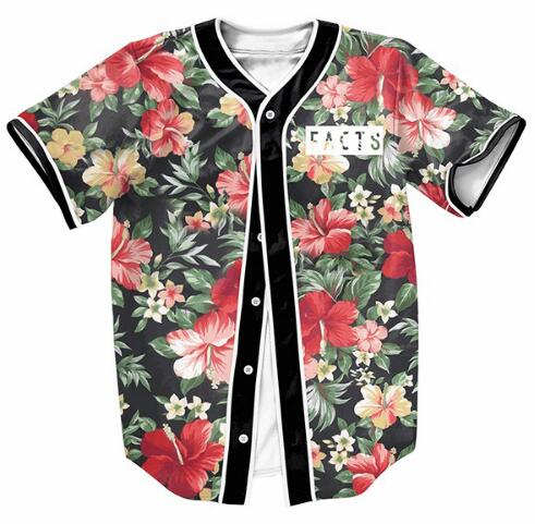 Facts Floral Jersey