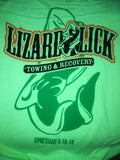 Get Licked T-shirt in Lime Green