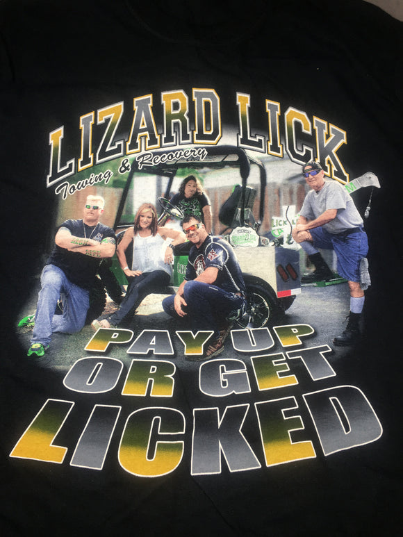 Pay Up or Get Licked Krew Shirt