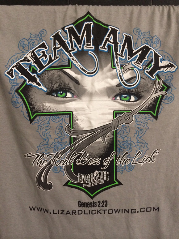 Team Amy Short Sleeves T-Shirts