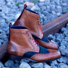 Black Watch Military Brogue Boot