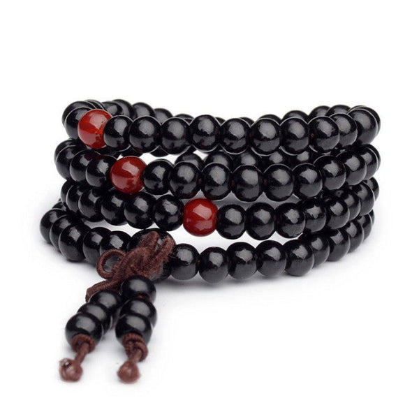 Bracelets - 6mm Sandalwood Meditation Beads