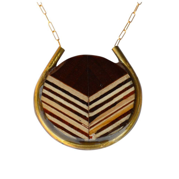 Necklaces - Chevron Encircle