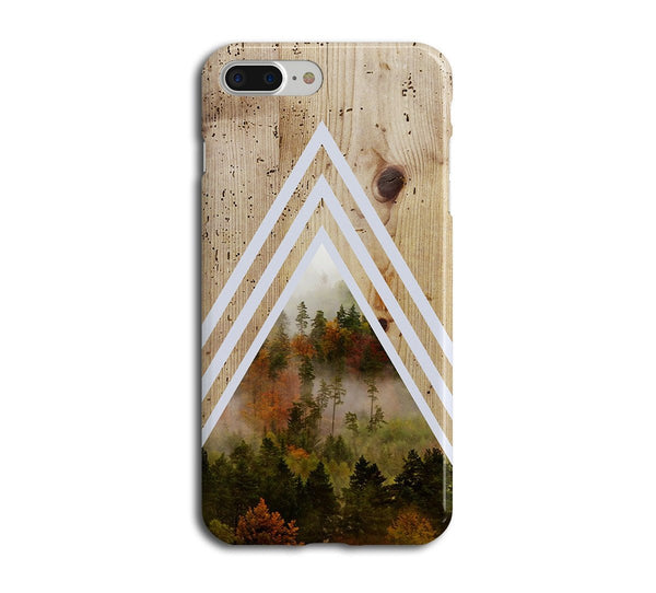 Phone Cases - Dense Forest X Chevron