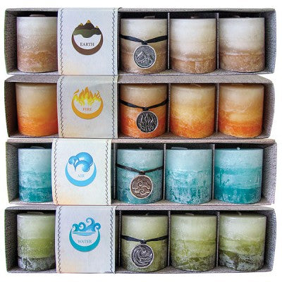 Mini Elemental Candles