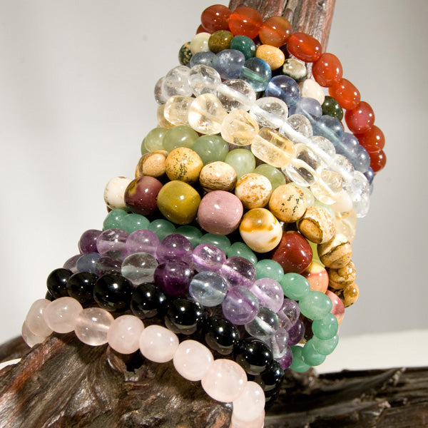 Gemstone Nugget Bracelets